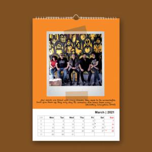 Alphaville Calendar 2021 - March
